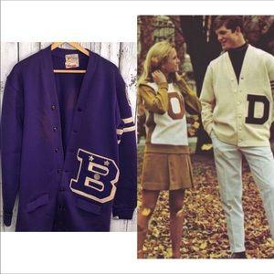 Vintage Varsity High School Letterman Sweater